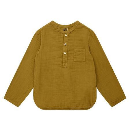 Kids Bonton Matteo Shirt - Olive Oil Brown