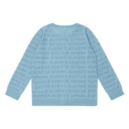 Kids Bonton Mirette Cardigan - Myosotis Blue