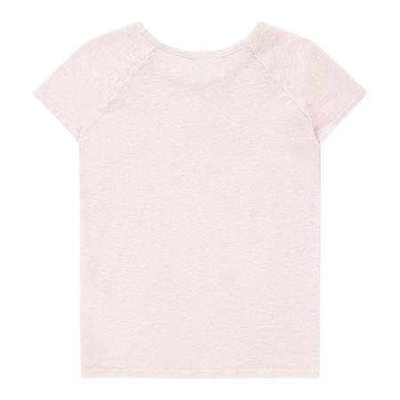 Kids Bonton Toto Raglan Tee shirt - Rose Paradise Pink