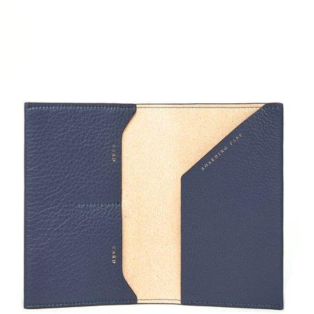 OAD Billy Passport Case - Midnight Blue