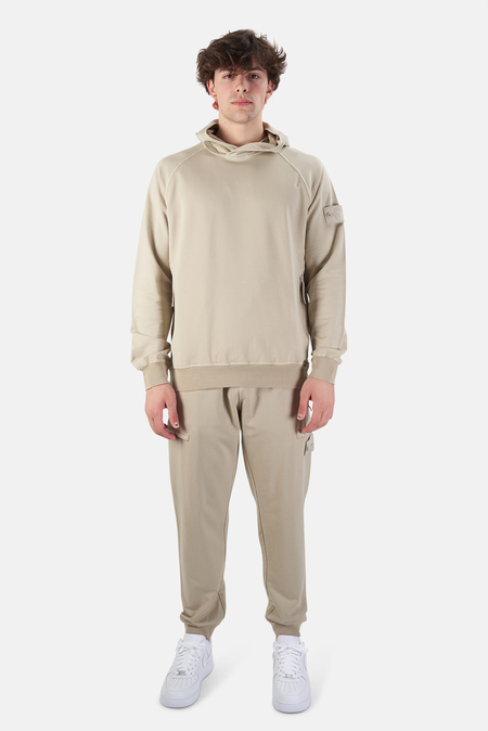 Stone Island Ghost Piece Fleece Cargo Pants - Khaki