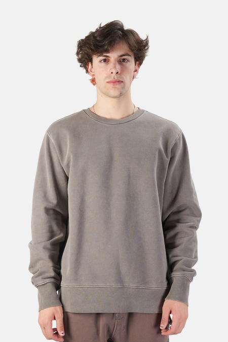 Ksubi Cross Logo Crew Sweater - nomad grey