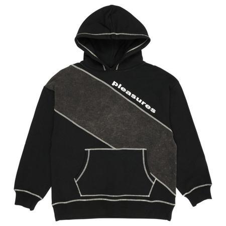 PLEASURES Collapse Hoody sweater - Black