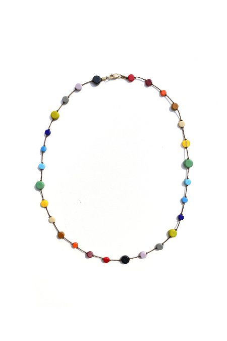 I. Ronni Kappos Multi Circle Necklace