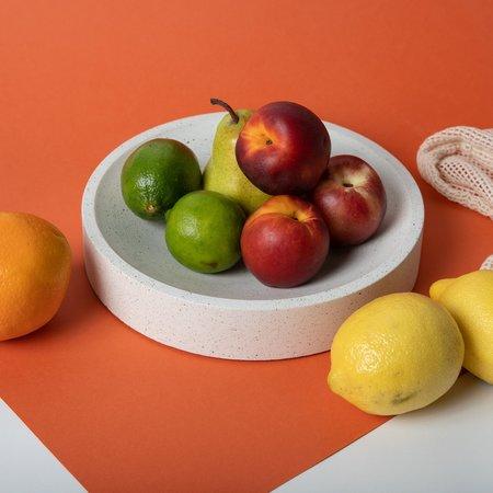 Pretti.Cool Centerpiece Bowl - White Terrazzo