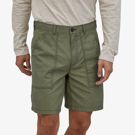 "Patagonia 8"" Organic Cotton Twill Utility Shorts - Pronghorn Tan"