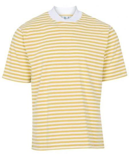 Barbour Inver Stripe Tee - Antique Yellow