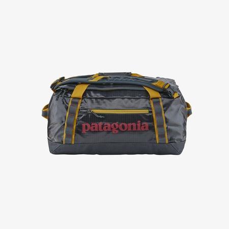 Patagonia Black Hole® 40L Duffel Bag - Smolder Blue/Buckwheat Gold