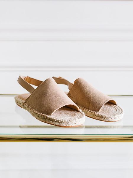 KKE Shoes Ruby Slingback - Latte