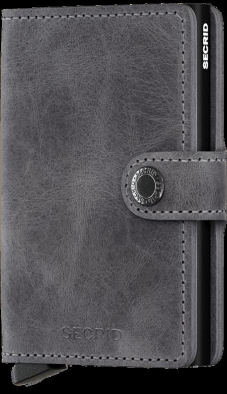 Secrid Miniwallet - Vintage Grey/Black