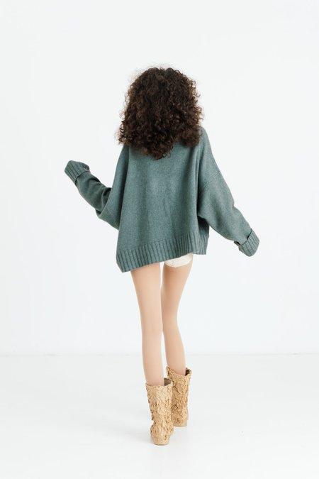 Lela Jacobs U Crop Sweater