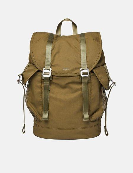Sandqvist Charlie Vegan Backpack - Olive
