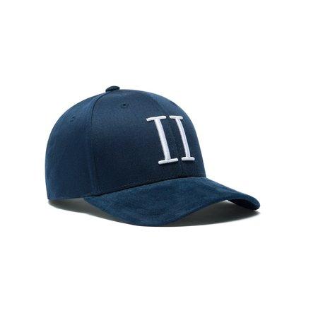 Les Deux Suede II Baseball Cap - Navy