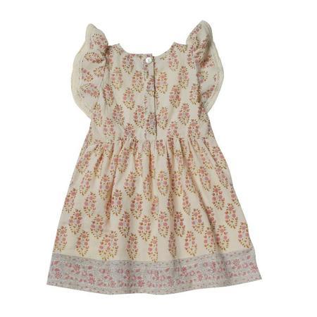 Kids Bonheur Du Jour Amelia Dress - Rose Ecru
