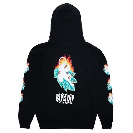 RIPNDIP Fuego Hoodie sweater - Black