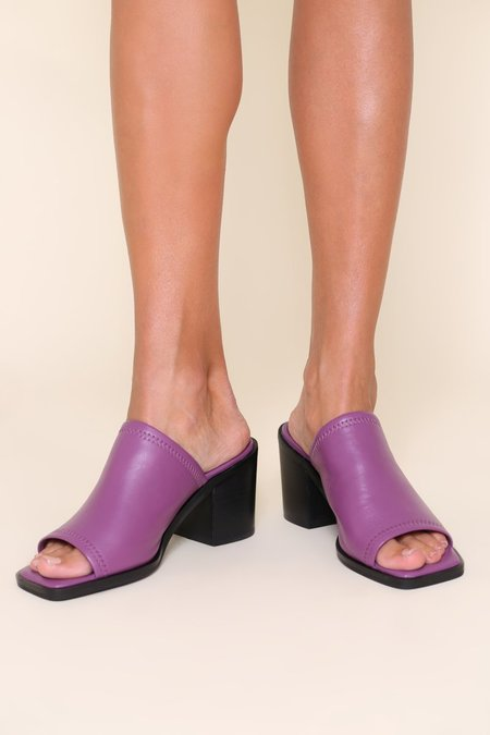 """""""INTENTIONALLY __________."""" Imply 2 Sandals - Purple"""