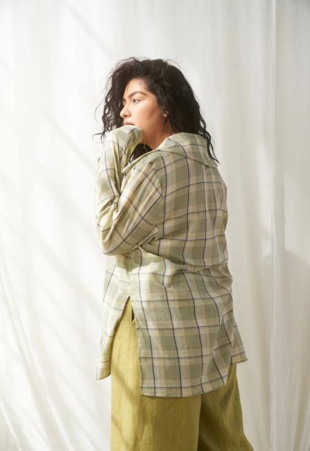 SELVA / NEGRA Vero Shirt - Organic Plaid