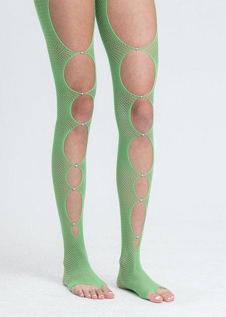 Rui Fishnet Stockings - Lime