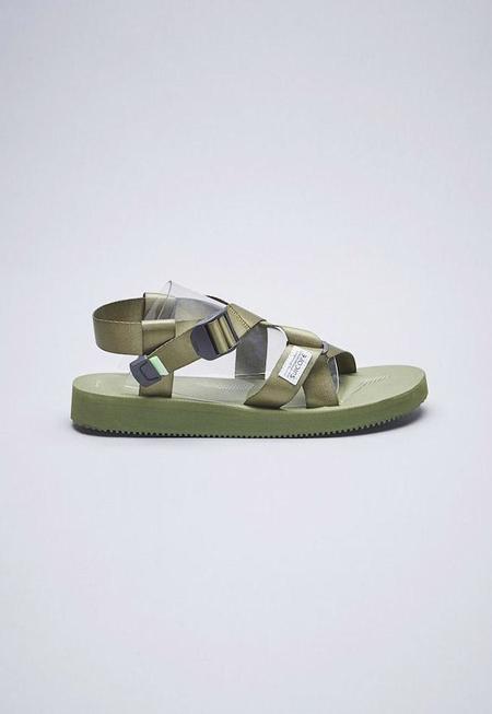 Suicoke Chin2-Cab Sandals - Olive
