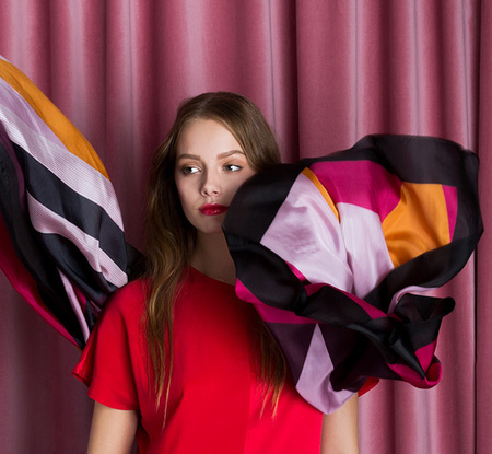 Studio Heijne Silk Scarf - Papilot