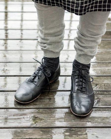 Fog Linen Work Linen Leggings - Grey