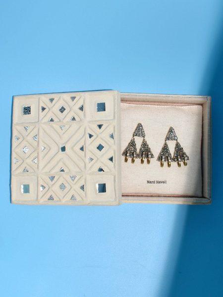 Nani Haveli Embroidery Earrings