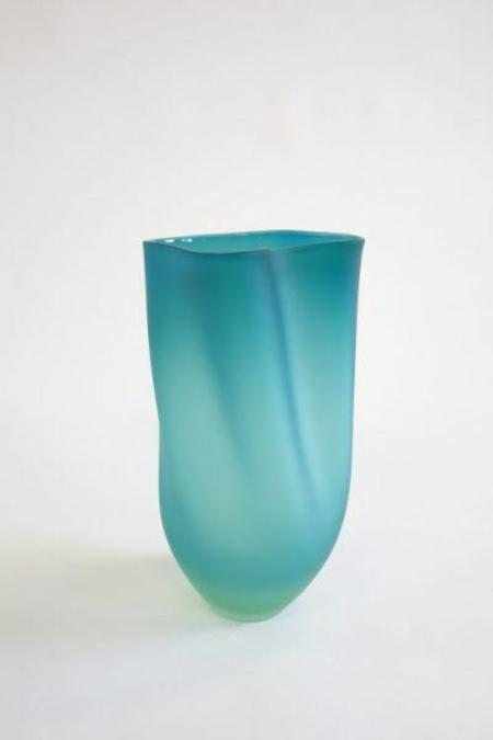 Jeff Goodman Ovelle vase - Turquoise