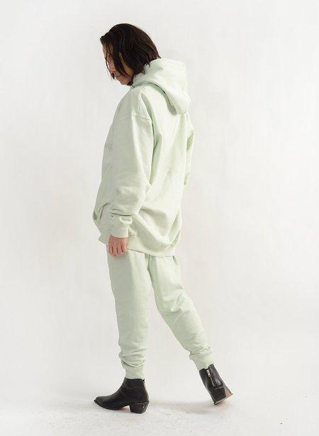 Meg Feminist Hoodie sweater - Apple Green
