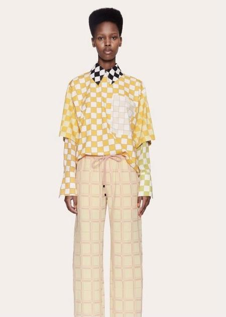 Stine Goya Katalina Shirt - Multi Checker