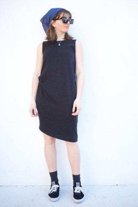 Valérie Dumaine Toni Hemp Dress - Black
