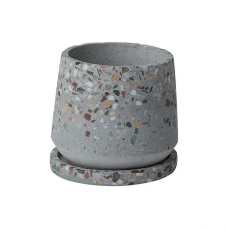 Greenwood Terrazzo Pots - Cement