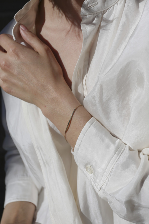 Grace Lee 14K Yellow Gold Bar Bracelet