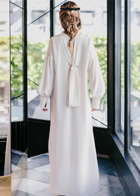 Studio Heijne Long Sunday Dress - Off White