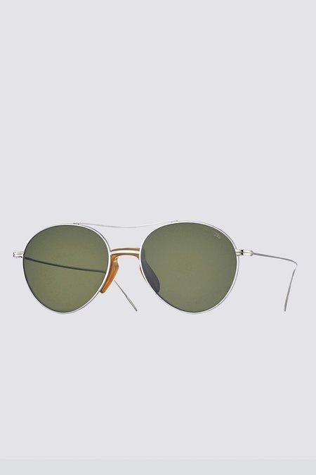 Eyevan 7285 Metal 716 Sunglasses - Silver