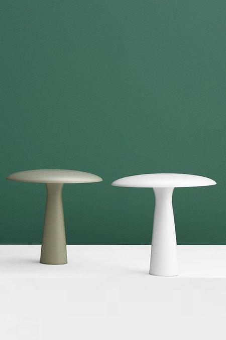 Normann Copenhagen Shelter Table Lamp - Limestone