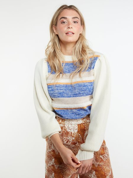 THE ODELLS Shirley Sweater - Coconut Milk