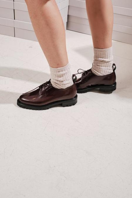 ACT SERIES Agard Shoes - Burgundy