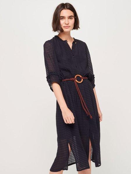 Sessun Gold Canyon Dress - Navy