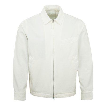 Universal Works Windcheater Canvas Zip Overshirt jacket - Off White