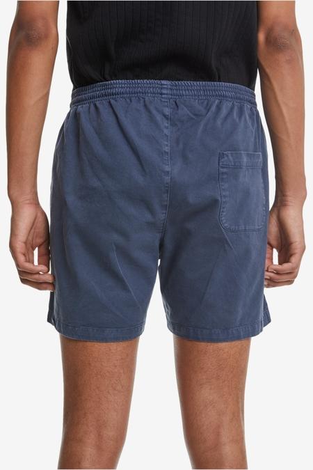Schnayderman's Twill Garment Dyed Shorts - Mood Indigo