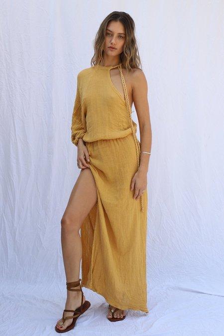 Jen's Pirate Booty Smoketree Maxi Dress - Sunrise