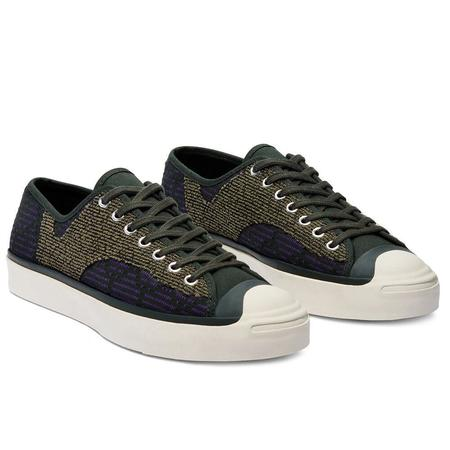 Converse Jack Purcell Rally OX Sneakers - Deep Lichen Green