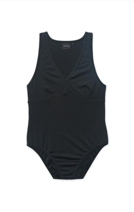 Richer Poorer V-Neck Bodysuit - Black