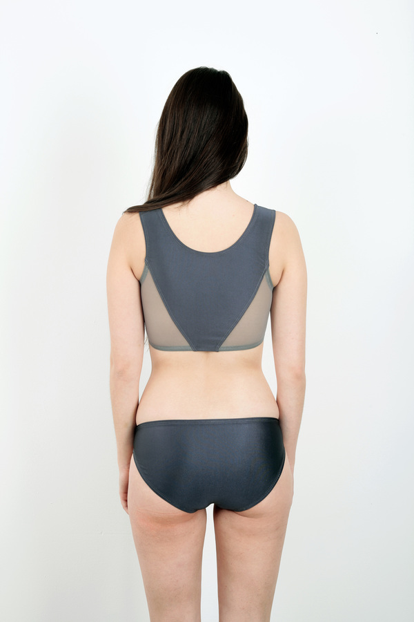 Minnow Bathers Araya Gray Top