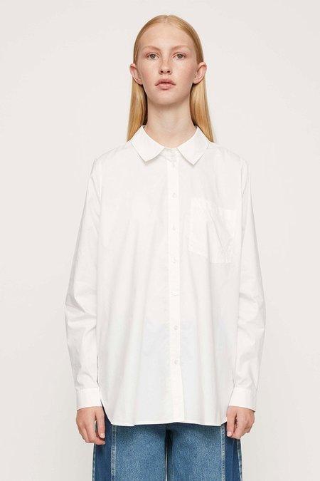 Just Female DALLAS SHIRT - WHITE
