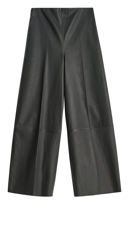 By Malene Birger Clivia Leather Trousers