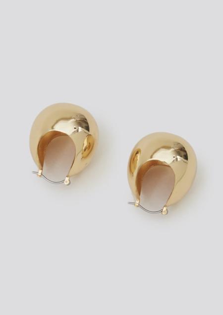 Rachel Comey Large Keel Hoop - Gold