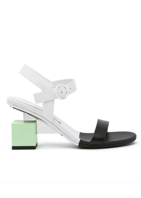 United Nude Cube Sandal - Mid Shadow