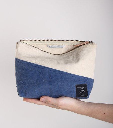 IMMODEST COTTON Bicolor Sardine Pouch bag