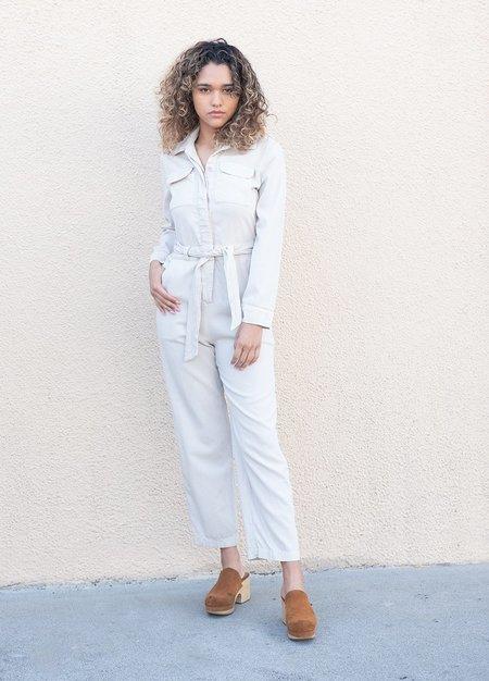 Lacausa Ludlow Jumpsuit - white